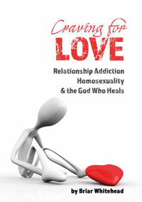 The book Craving for Love discusses causes and resolution of Relationship Dependency and homosexuality